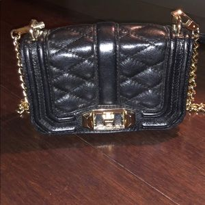 Black purse perfect for a night out
